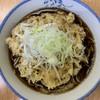 川一 - 料理写真:イカ天のそば¥480