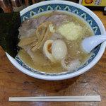 めん丸 - 料理写真:チャーシューメン(797円)+煮玉子(93円)+特製すりニンニク(93円)