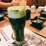 明神丸 - 緑茶入りビール