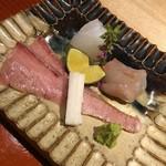 Kifuu - アオリイカ ヒラメ 縁側 ブリ炙り