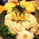 うどん処 ごえん - 料理写真:鶏玉ぶっかけうどん820円!