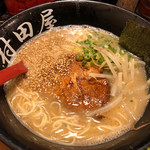 村田屋 - らーめん 600円。活気は多め。麺量は少なめ。スープはバランスめ