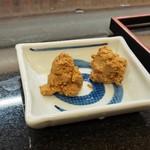 あかめ寿司 - 付き出しその2