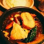 アジアンスープカリー べす - 2019/2  チキン野菜カリー3.5番