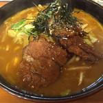 ラーメンハウス - カレーラーメン野菜トッピング 1,090円