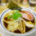 手打式超多加水麺 ののくら - 中華そば750円