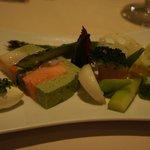シェヌー - 前菜2 お野菜たっぷり♪