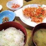 あおぞら - 桜海老定食