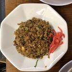 麺対軒 - セットのヤキメシ(小)