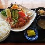 お食事処 みうら - チキン南蛮定食(850円)