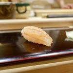 102071905 - [2019/02]寿司④ 羽幌産甘えびの昆布締めの握り