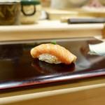 102071989 - [2019/02]寿司⑨ おおのすけのづけの握り