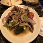 ナムチャイ - ピータンサラダ