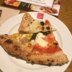 102075639 - モッチモチのピザ生地が凄く美味しい〜(^.^)