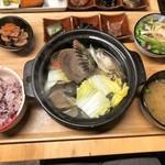 貝と魚と日本酒 貝男  - 貝蒸し御膳