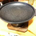 102076428 - 陶板焼き