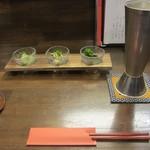 旬菜 さつまの意 - 前菜