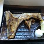 三崎「魚市場食堂」 - 焼魚