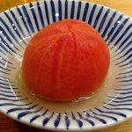 Yompachigyojou - 丸ごと冷やしトマト 580円