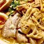 ら~麺藤平 - 熟芳 みそラーメン 細麺