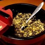 ら~麺藤平 - 卓上の高菜
