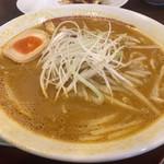 拉麺本家夢屋 - 出張で鳥取  名物鳥取ラーメン(カレー)を拉麺ランチでいただきました。〆はご飯にスープをかけておじや風に。これが鳥取ラーメンの食べ方だそう。