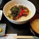 焼肉家 津和凪 - 料理写真:焼肉どんぶり