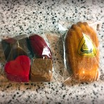 オーボンヴュータン - 料理写真:チョコレートとマドレーヌ♡