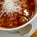 あまからや - 少子湯麺:勝浦駅タンタンめん