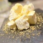 大衆天ぷらtoかすそば風土.はなれ - クリームチーズからすみ