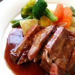 山の洋食屋 フレール - あか牛ステーキ200g