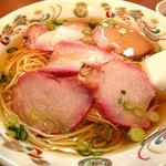 民生 廣東料理店 - 叉焼麺