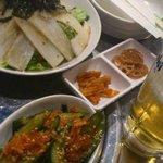 10209766 - 韓国風大根サラダとオイキムチ