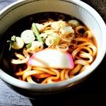 郷土料理とお食事処 赤富士 - 温うどん