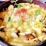 郷土料理とお食事処 赤富士 - きのこほうとう