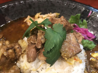 大衆中遊華食堂八戒 - 魯肉トッピング