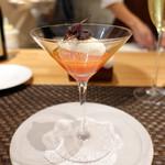 102096807 - サンデーランチ、モッツァレラチーズのムースと完熟トマトのジュレ