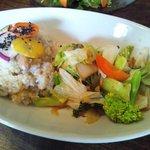 谷中 ボッサ - 玄米野菜かけごはん