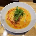 鶏白湯SOBAとよだれ鶏の店 虎舎 - 「担担鶏白湯SOBA (900円)」