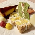 ドゥオーモカフェ - 料理写真:おまかせ3種盛り
