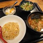 102107664 - レディースセット(半玉味噌&炒飯)