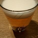 102108763 - ビール(小さいグラス。。)