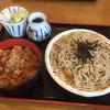 そば処匠庵 - 料理写真:豚丼そばセット