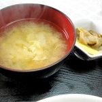 玉屋 - スープです