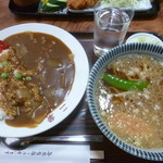 二葉 - 料理写真:'19/02/17 Aセット(税込800円)