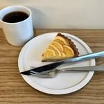 アフターアワーズ - マイヤーレモンのタルト&(西永福のヤルクコーヒーの豆を使った)コーヒー
