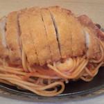 レストラン泉屋 - 料理写真:海の幸スパゲティー カツ乗せ