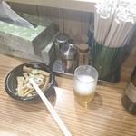 102112563 - ビールとメンマ