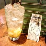 魚寿司 大塚のれん街 - 塩レモンサワーとおみくじ