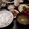 ちんめん - 料理写真:鳥唐揚げ定食(650円)